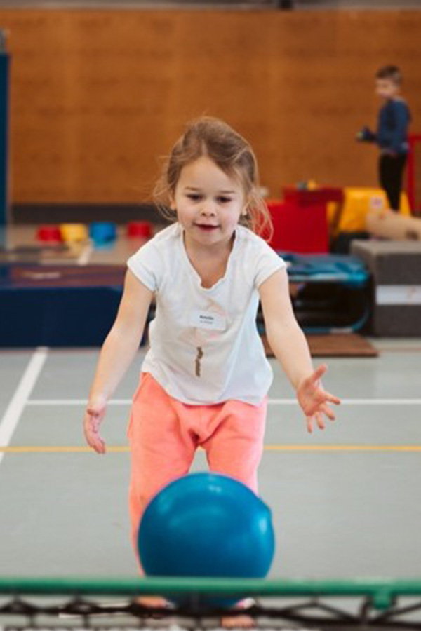 St Michael's KinderGym is an active program which will become a favourite with your pre-school aged child.
